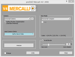 Screenshot Mercalli V4 GoPro Hero3 Wide