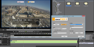 Screenshot CMOS Fixr comparison helicopter Las Vegas