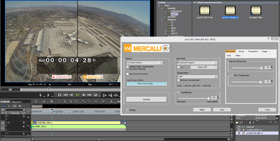 Screenshot Edius Plugin Mercalli comparison helicopter