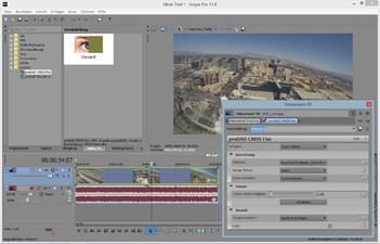 Screenshot Mercalli V4 Plug In for Sony Vegas