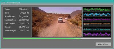 Screenshot Videoanalyse Jeep Safari