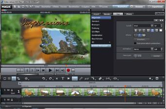 Screenshot MAGIX Video Deluxe MX Plus