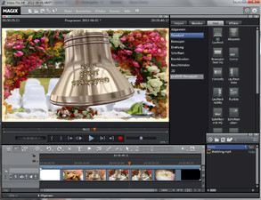 Screenshot MAGIX Video Pro X4
