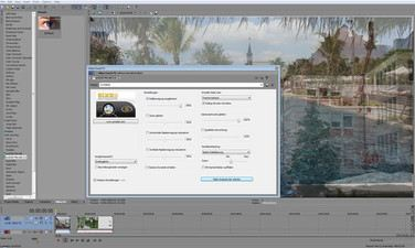 Screenshot Mercalli editing