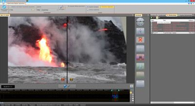 Screenshot Mercalli Stabilisierung Lava