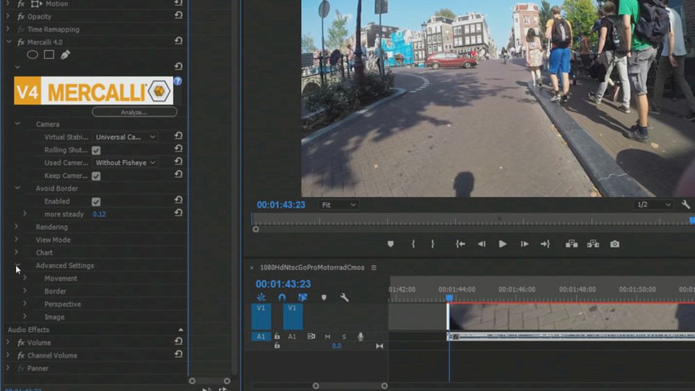 proDAD Mercalli V4 Adobe: Stabilizer+CMOS Correction Plugin